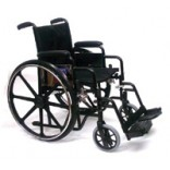"eChair - 16"" Detachable Arm with Foot Rests, Wt Limit 250 lbs"