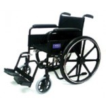 "eChair - 18"" Fixed Arm with Detachable Foot Rest"